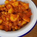 Kitchen Cupboard Curried Potatoes by Budget Food Mummy