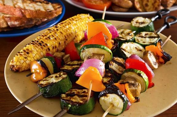 Barbecue Roasted Veggies