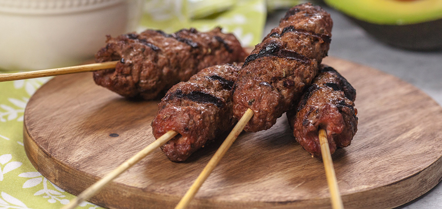 Mincemeat Barbecue Kebabs