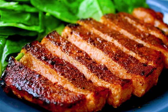 Sweet Chilli Barbecue Pork Chops